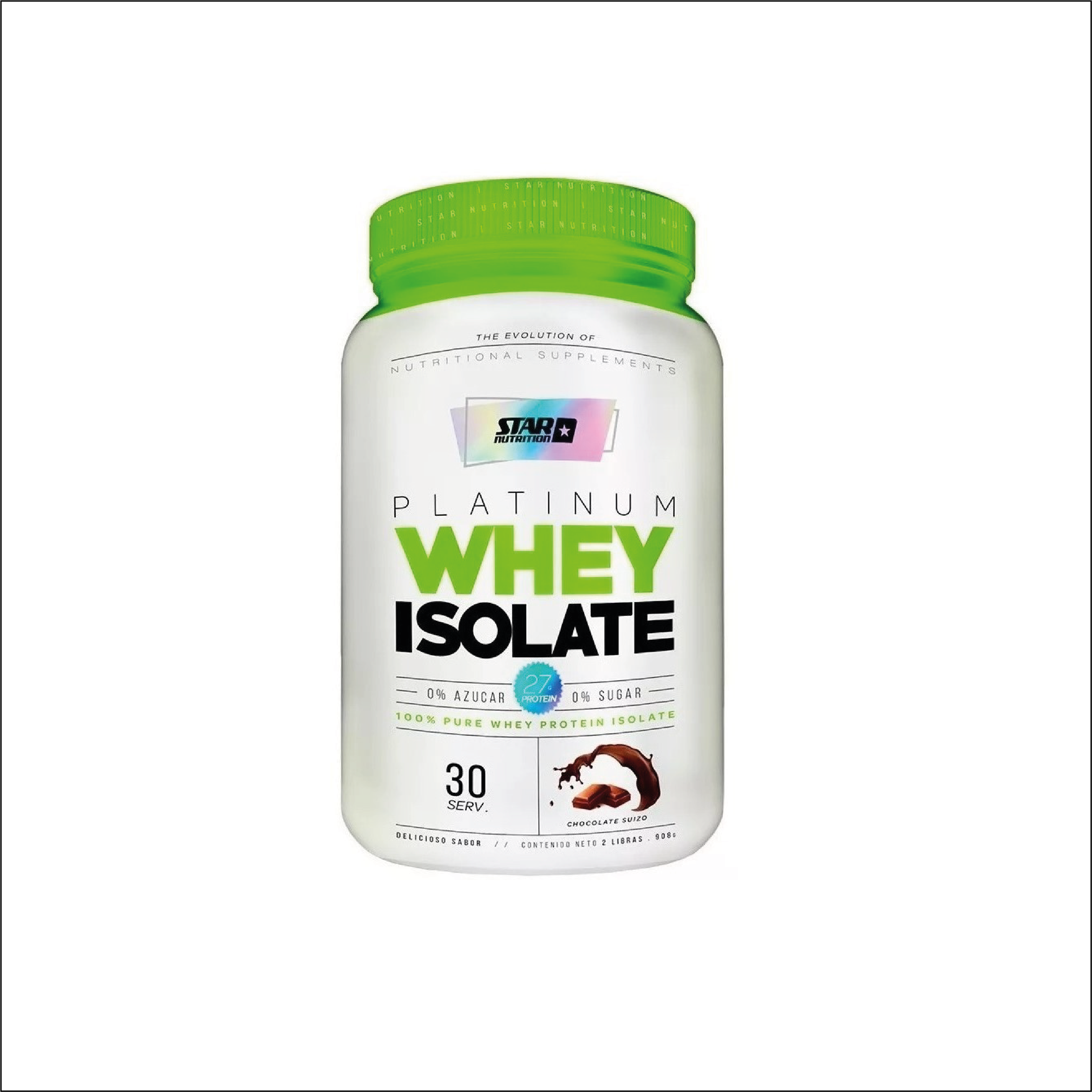 12 ISOLATE WHEY STAR NUTRITION