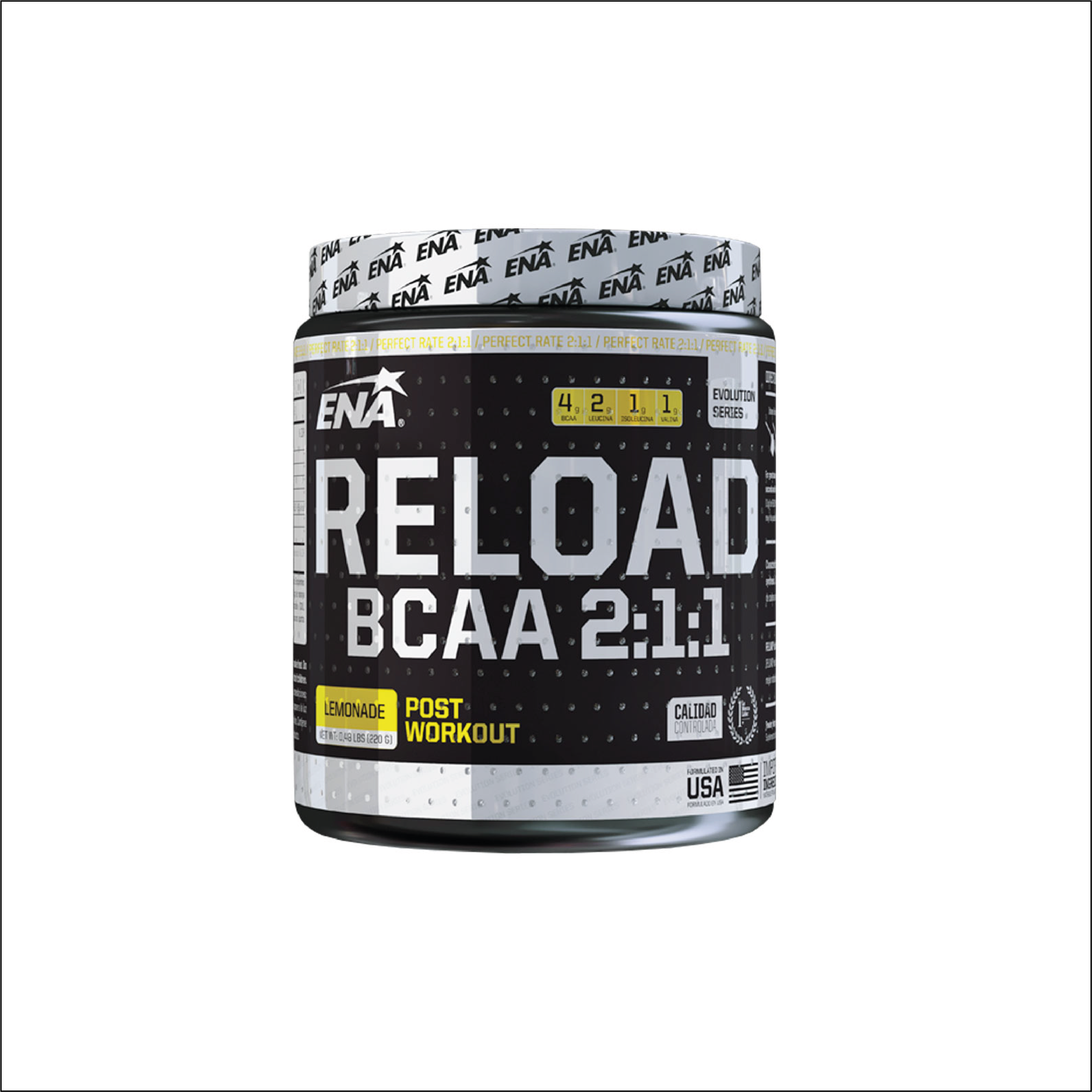 6 BCAA RELOAD ENA